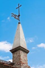 St. Lorenzo Church. Bobbio. Emilia-Romagna. Italy.
