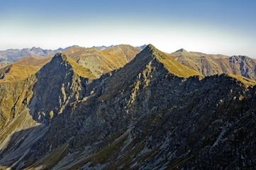 Western Tatras (Rohace), dangerous Tri kopy peak