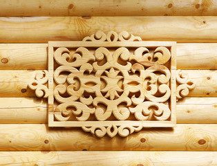 Woodcarving. A decorative element