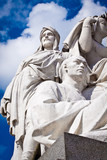 Albert Memorial, Kensington, London: detail of Asia