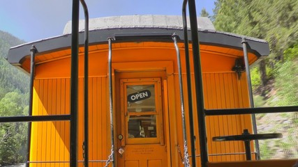 Alter Eisenahnwaggon, Arizona, USA