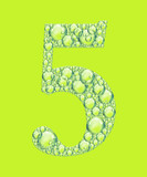 green five bubbles