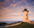 The Nobska Point Light, Woods Hole, Cape Cod Massachusetts