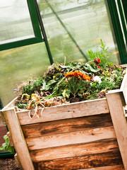 Bio - Kompost - Garten