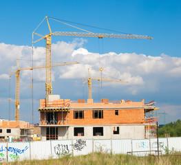 Houses under Contruction