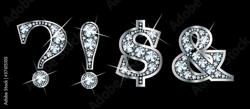 Diamond Bling Punctuation