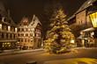 canvas print picture - Weihnachtsbaum am Tiergärtner Tor