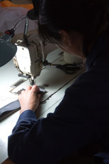 Chinese Factory Seamstress