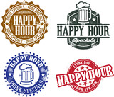 Happy Hour Stamps