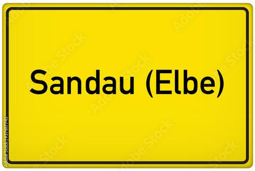 Leinwanddruck Bild Sandau an der Elbe