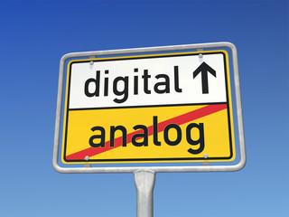 digital statt analog