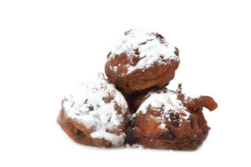 traditional dutch oliebollen