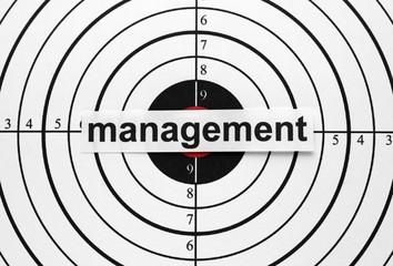 Management target