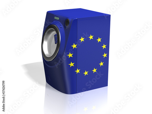 washing machine EUROPEAN UNION