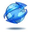 Global communications concept