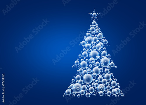 xmas tree bubbles