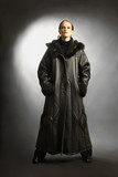 Sheepskin coat winter clothes fashion