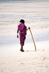 Masai in Zanzibar - Masai sulla spiaggia di Zanzibar