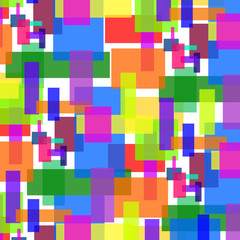 colorful background of squares