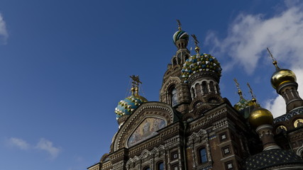 Savior on the Spilled Blood in St. Petersburg
