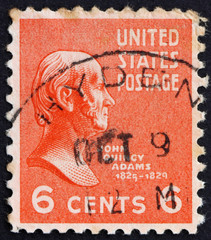 Postage stamp USA 1938 John Quincy Adams
