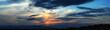 panorama al tramonto in sardegna