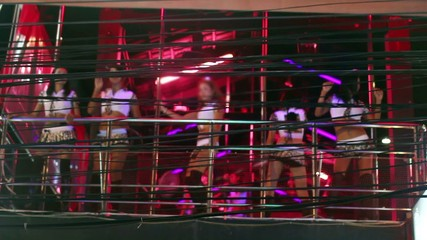 striptease club in Patong, Phuket, Thailand