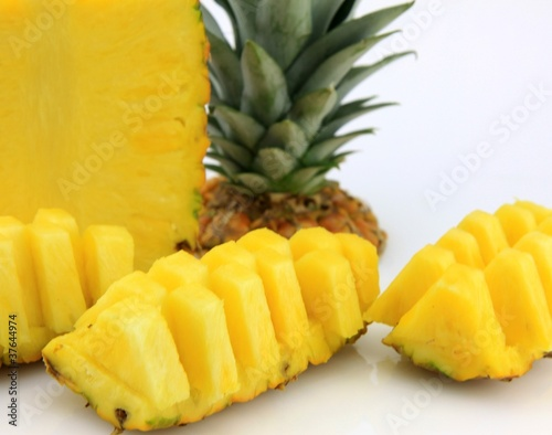 Coupe d 39 un ananas - Conservation ananas coupe ...