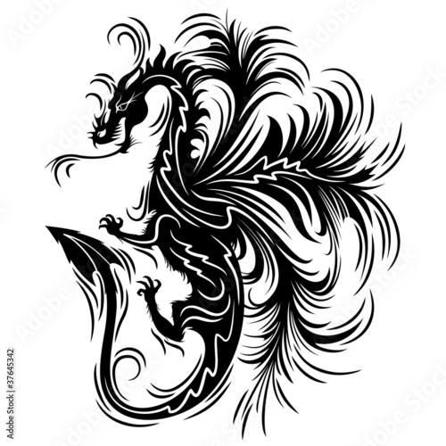 Drago Tatuaggio Simbolo-Dragon Tattoo Symbol-2012