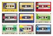 Cassette Tapes Vector - 37648191