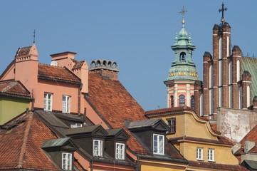 Altstadtpanorama Warschau