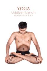 Yoga uddiyan bandha