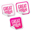 Great value stickers