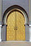 Palazza Reale - Fez - Marocco poster