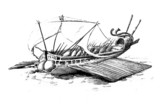 Antique Roman Ship - 37663311