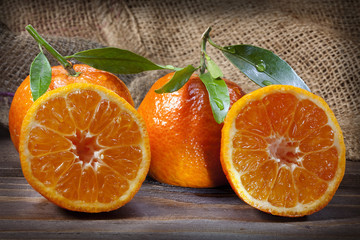 orangen geschnitten