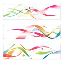 abstrait bandeau série graphisme