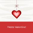 cuore rosso - buon san valentino