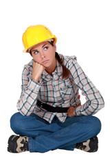 A grumbling tradeswoman