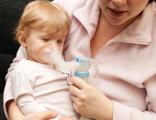 inhallieren bei Bronchitis/Asthma