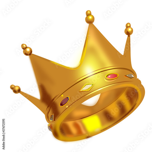 Golden King Crown