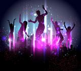 Fototapety Party Background Illustration