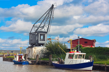 Hafen in Tönning