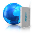 Wireless communication and internet concept
