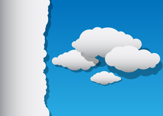 Vector Clouds with Copyspace