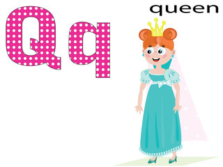 Children alphabet, Q
