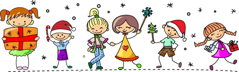 Мультфильм Рождество детей