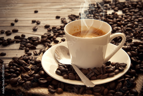 Fotobehang Cafe Espresso