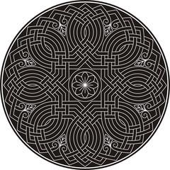Vector illustration of Arabic ornament