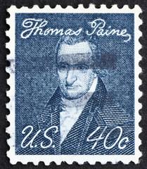 Postage stamp USA 1973 Thomas Paine